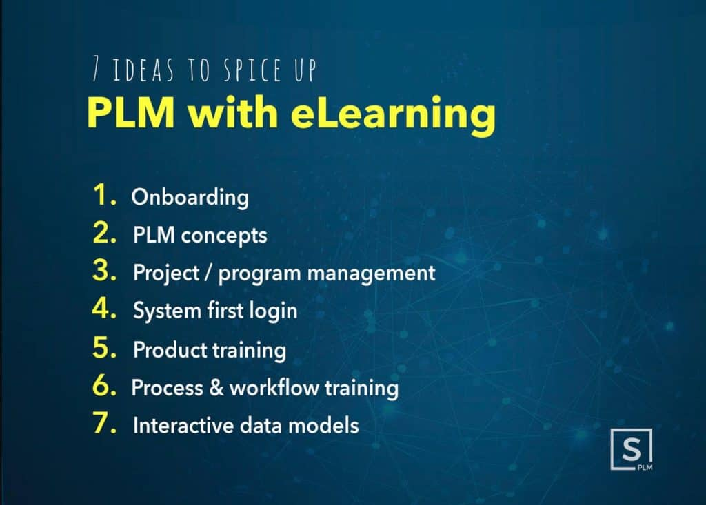 7 ideas to spice up PLM with elearning