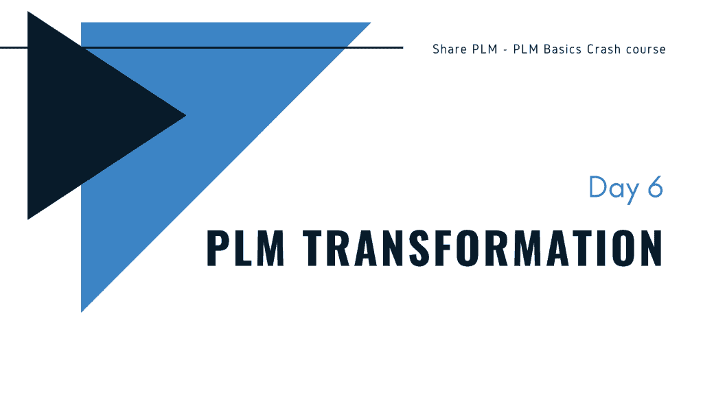 PLM Basics Crash Course Share PLM