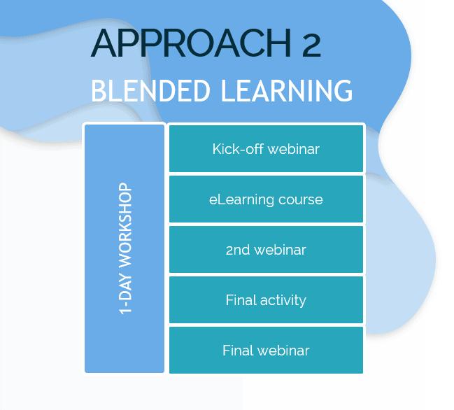 plm online training blended learning approach
