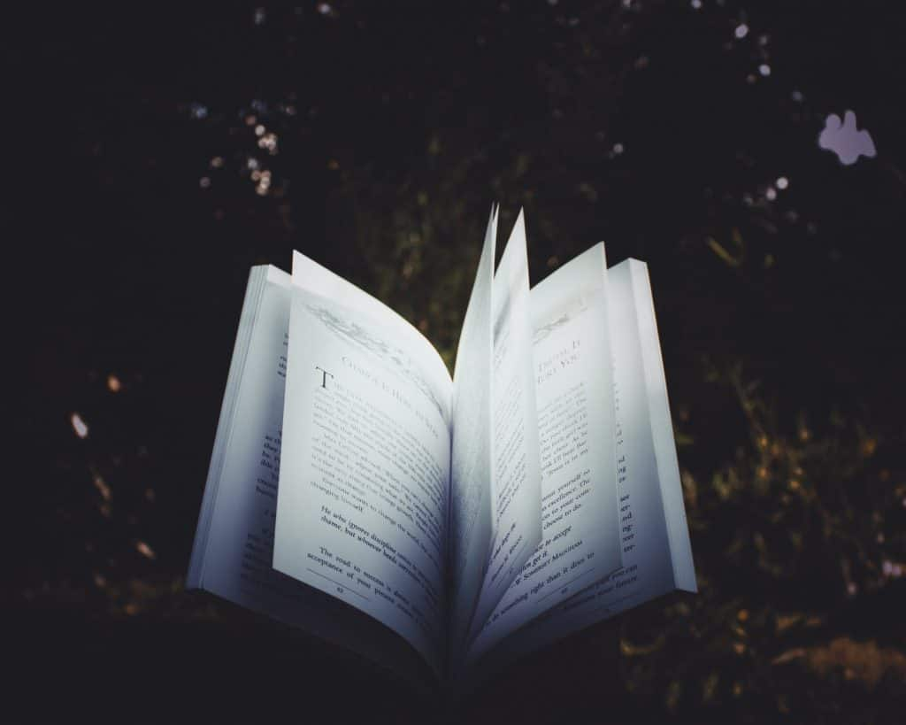 open book story