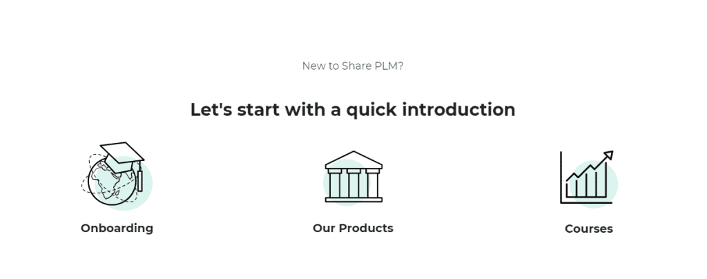 Share PLM internal library